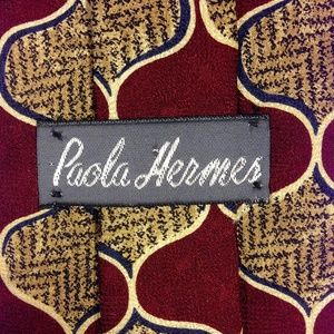 "Paola HERMES Accessories - Paola HERMES 100% Imported Silk Hand-made 4""x56"""